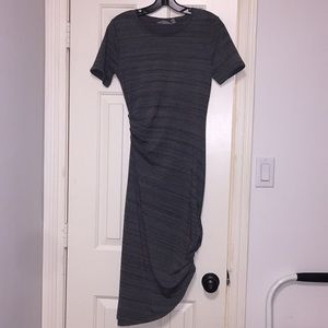 NWOT Athleta Marble Gray cinched dress - XS